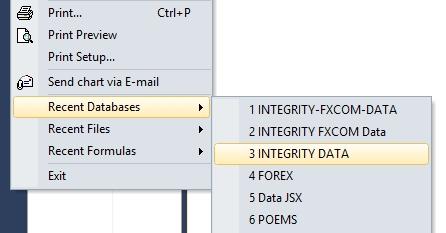 recent database